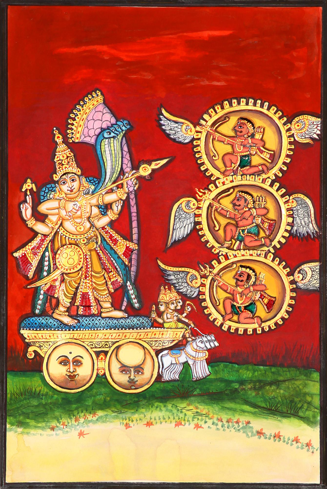 Tripurantaka - Exotic India